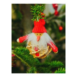 Santa Claus Christmas bauble 21.5 Cm X 28 Cm Flyer