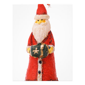 Santa Claus Christmas candle decoration Personalized Flyer