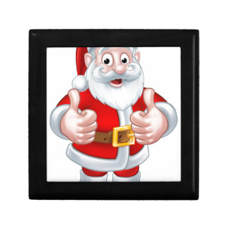 Santa Claus Christmas Cartoon Character Gift Box
