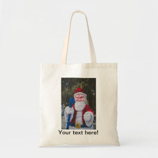 Santa Claus Christmas decoration Tote Bags