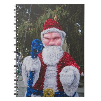 Santa Claus Christmas decoration Notebooks
