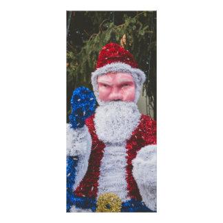 Santa Claus Christmas decoration Rack Card