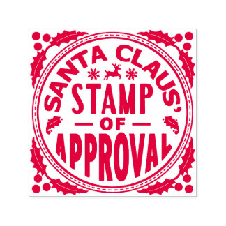 Santa Stamp Of Approval Gifts