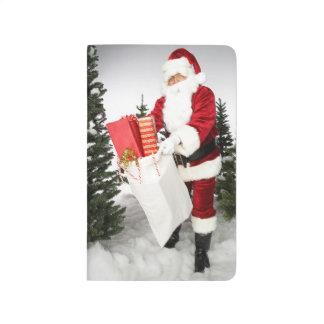 Santa Claus Christmas Gifts Holiday Presents Journal