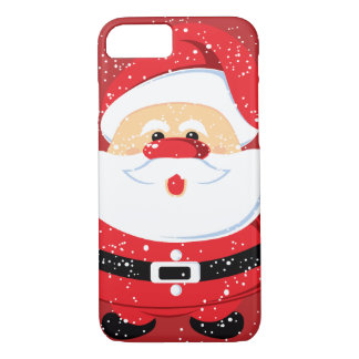 Santa Claus Christmas holiday custom iPhone 7 Case