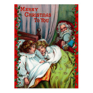 Santa Claus Christmas Postcard