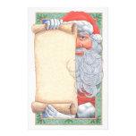 Santa Claus Christmas Stationary Stationery Paper