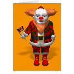 Santa Claus Clown