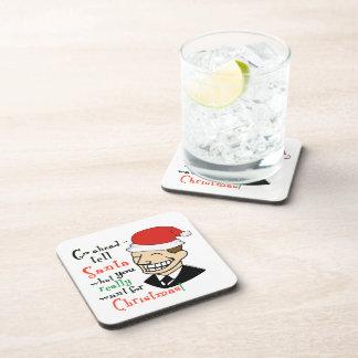 Santa Claus Drink Coaster