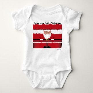 Santa Claus cutout Baby Bodysuit
