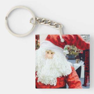 Santa Claus doble Sided Keychain