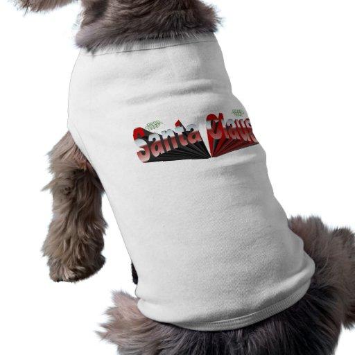 Santa Claus Dog Tee