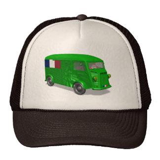 Santa Claus Drives Citroen Type H Van Tube Trucker Hat