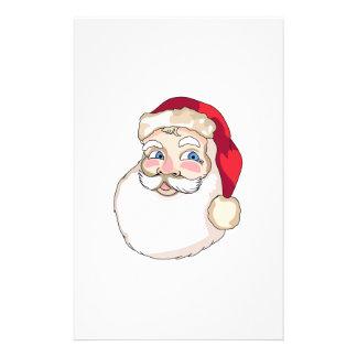 Santa Claus Face Customised Stationery