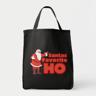 Santa Claus Favorite HO Canvas Bags