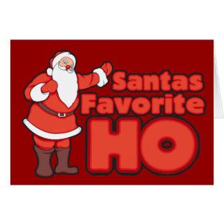 Santa Claus Favorite HO Cards