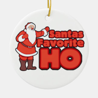 Santa Claus Favorite HO Christmas Tree Ornament