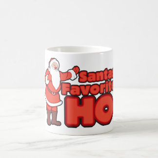 Santa Claus Favorite HO Coffee Mugs