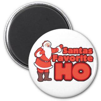Santa Claus Favorite HO Fridge Magnet