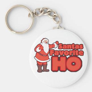 Santa Claus Favorite HO Key Chains
