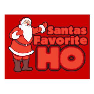 Santa Claus Favorite HO Post Cards