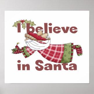 Santa Claus Flies Poster