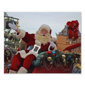 Santa Claus for Christmas Photo Print