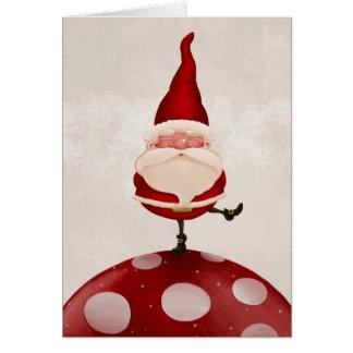 Santa Claus fungus Card