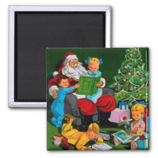 Santa Claus Funnies – Storytime Refrigerator Magnets