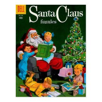 Santa Claus Funnies – Storytime Postcard