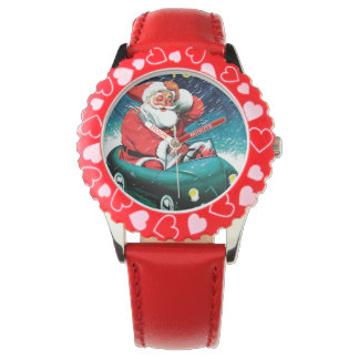 Santa Claus Funnies - Toy Car Watch
