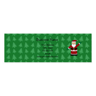 Santa claus gifts business cards