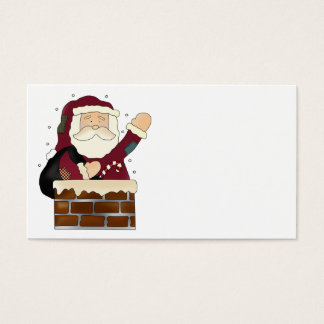 Santa Claus Happy Holidays Business Card