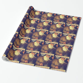 """Santa Claus has gone to War!"" Wrapping Paper"