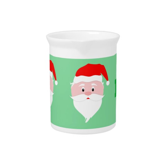 Santa Claus Ho Ho Ho Pitcher