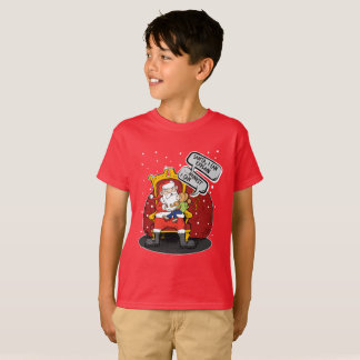 Santa Claus I'm a good child. Let me explain! T-Shirt