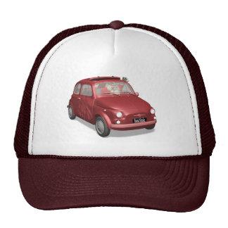 Santa Claus In Fiat 500 Trucker Hat