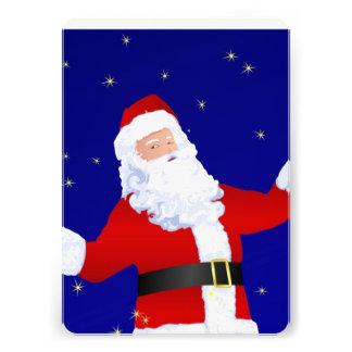 Santa Claus Custom Announcement