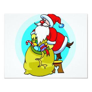 Santa Claus Personalized Invites
