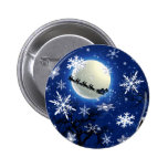 Santa Claus Is Coming To Town Button