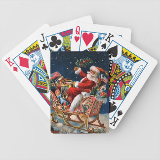 Santa Claus is Comming to Town Bicycle Playing Cards