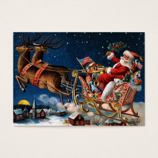 Santa Claus is Comming to Town Business Card