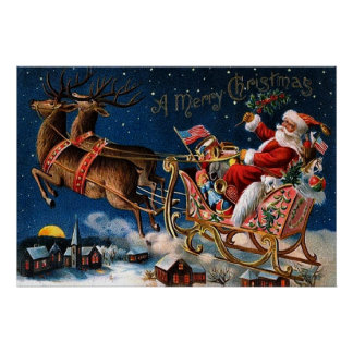 Santa Claus is Comming to Town Poster