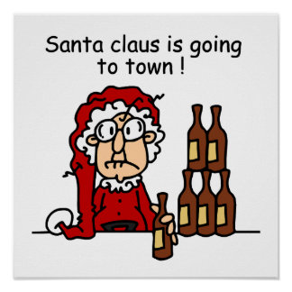 Santa Claus is Going to Town Poster