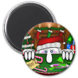 Santa Claus Kilroy Magnet