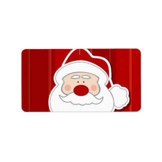 Santa Claus Label