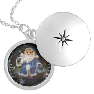 Santa Claus Locket Necklace