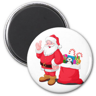 Santa Claus Refrigerator Magnet