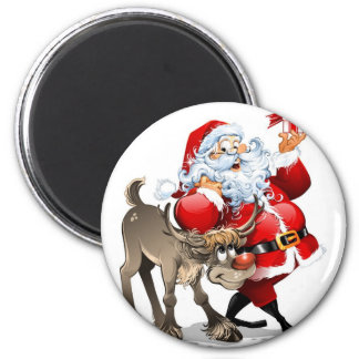 Santa Claus Refrigerator Magnets