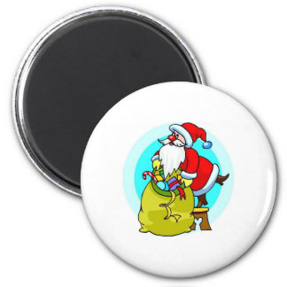 Santa Claus Fridge Magnet